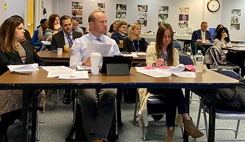 Principals attend Coronavirus prevention meeting