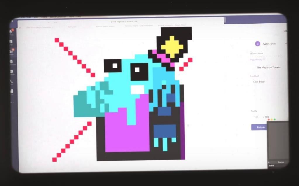 Ginny D'Alonzo, Barry Tech Computer Game Design and Programming Skills Teacher