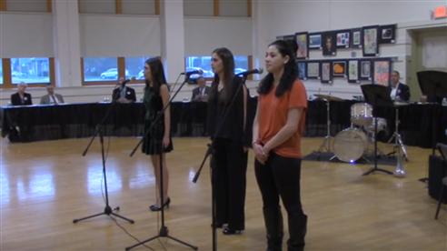 LIHSA students sing