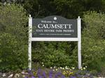 Caumsett Welcome sign