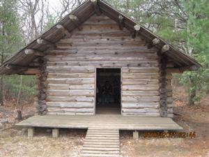 BV Log cabin