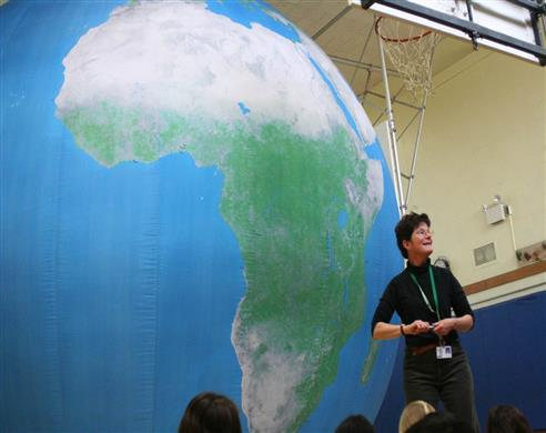 The EarthBalloon is a great way to learn about our planet.