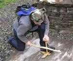 using a bowdrill