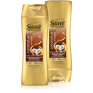 Suave Professionals Coconut Oil Infusion Damage Repair Shampoo and Conditioner