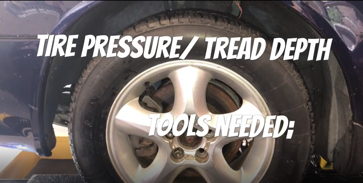 How To Check Tire Pressure and Tread Depth