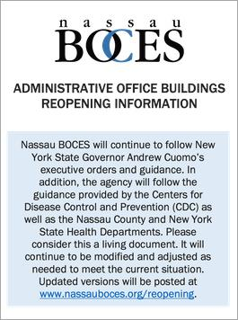 Administrative Office Buildings Reopening Information