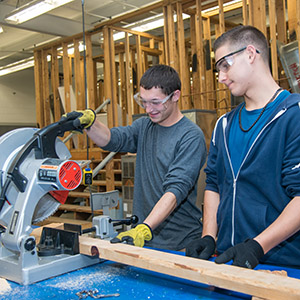 Construction Trades / Construction Trades Skills Logo