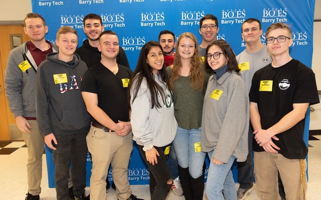 Nassau BOCES Barry Tech grads mentor students on how to find career success at second annual Alumni Day