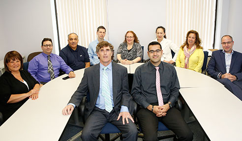 Financial and Information Systems team