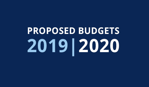 Proposed Budgets 2019-2020