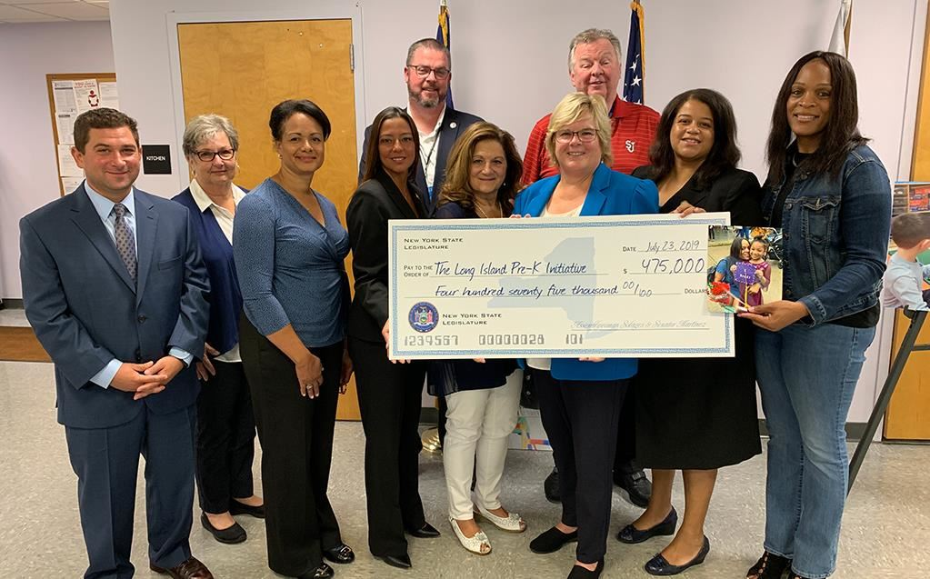 Asw. Solages and Sen. Martinez Secure State Funding for a Regional Pre-K Technical Assistance Center on Long Island