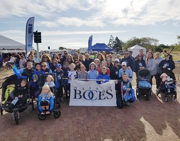 Team Nassau BOCES at 2019 Autism Speaks Walk