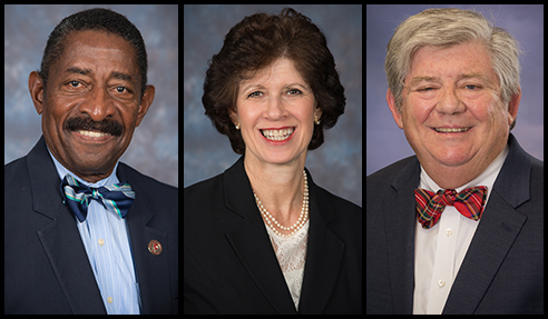 3 Board members re-elected