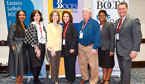 Nassau BOCES representation at the 2019 LITES conference