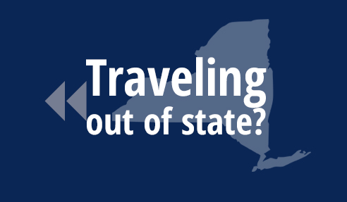Traveling out of state?