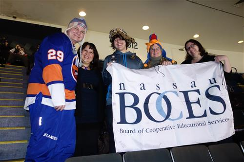 Nassau BOCES Afternoon at the Islanders