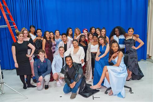 Barry Tech Fashion Design Technology Students