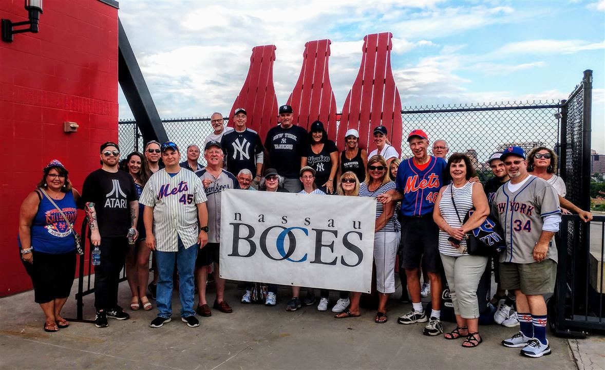BOCES Employees Attend Subway Series Matchup
