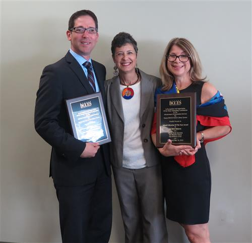 Nassau BOCES School Library System Honors School Librarian and Administrator of the Year