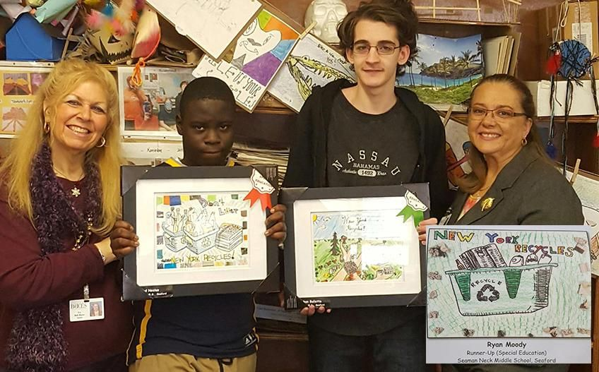 recycle contest winners
