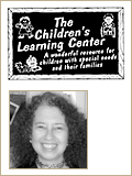 The Children's Learning Center logo with leadership headshot