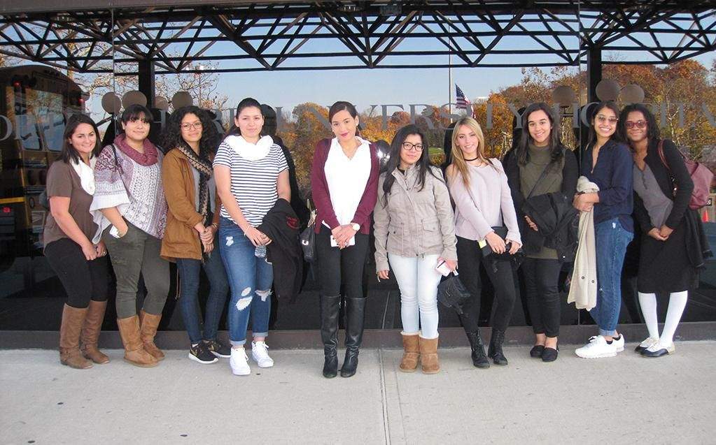 10 students at a Northwell Health facility