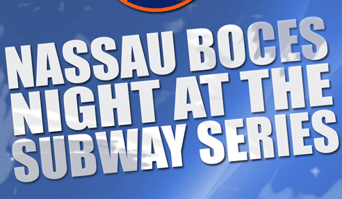 Nassau BOCES night at the Subway Series