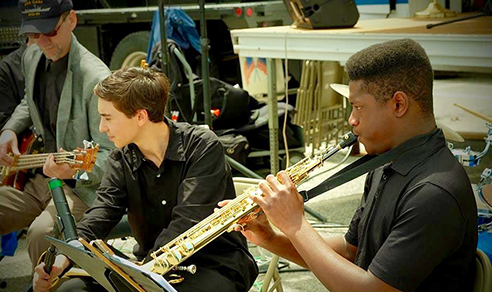 Summer Intensive Music Students